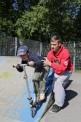174. Platz | Halbmarathon | Johannes B. (759) | am Spielplatz