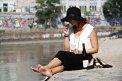 11. Place | Halbmarathon | Jacqueline Ö. (28) | am Donaukanal