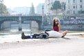 423. Place | Halbmarathon | Jasmin R. (388) | am Donaukanal