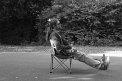147. Place | Marathon | Hubert Ford (70) | auf vier Beinen
