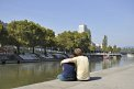 63. Place | Halbmarathon | Maritta G. (773) | am Donaukanal