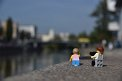 185. Platz | Marathon | Sigi van Houten (78) | am Donaukanal