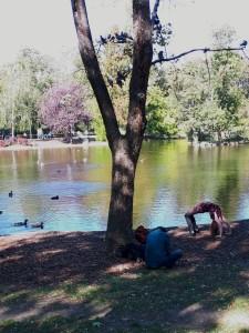 70. Platz | Handy | Bernhard W. (479) | im Stadtpark