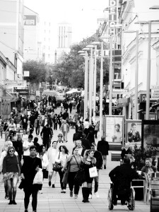 246. Place | Einzel | Katharina F. (937) | hustle and bustle
